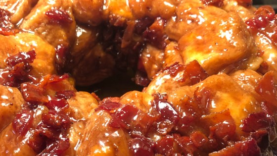 Photo of Maple Bacon Monkey Bread by turquoise