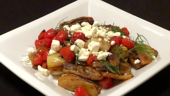 Photo of Braised Fennel with Tomatoes and Feta by chpmnk42