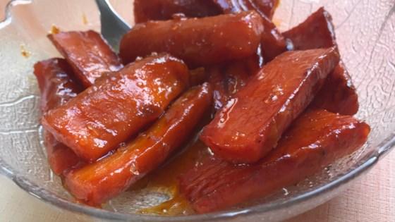 Photo of Spicy Glazed Carrots by BAJUNKIN