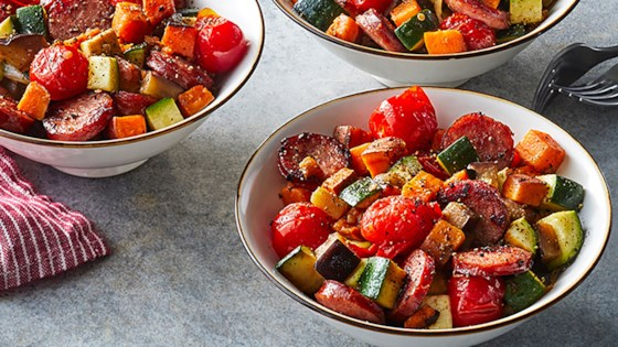 Photo of Autumn Ratatouille with Smoked Sausage by Hillshire Farm® Brand