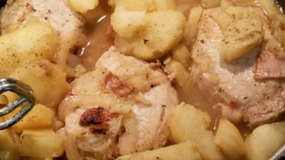 Photo of Grandmother's Pork Chop Dinner by Colleen Volcjak