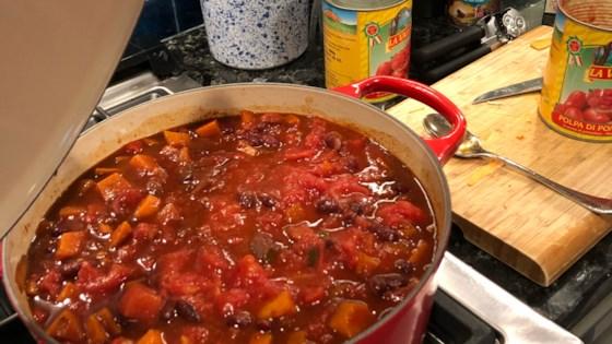 Photo of Vegan Sweet Potato Chili by AR Cook