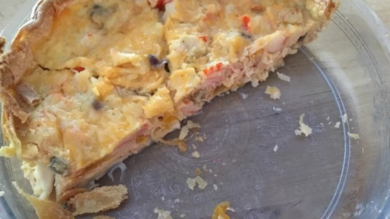 Photo of Crabmeat Quiche by BRIGITS
