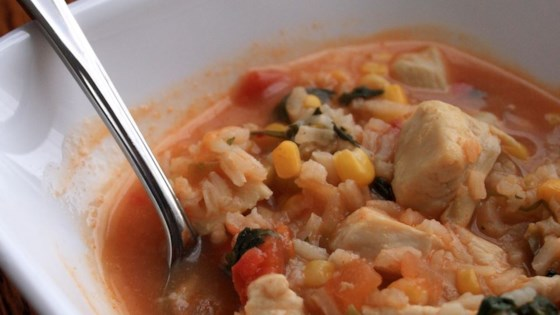 Photo of Hearty Chicken Tortilla Soup by Campbell's Kitchen