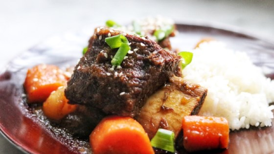 Photo of Instant Pot® Galbi (Korean-Style Short Ribs) by fabeverydayblog