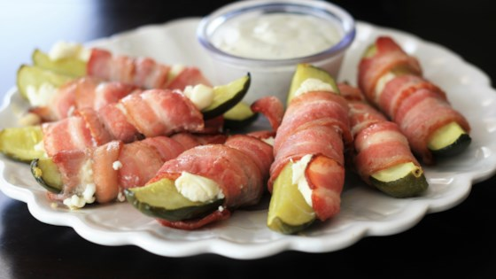 Photo of Bacon-Wrapped Pickles by France C.