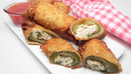 Photo of Stuffed Pickle Egg Rolls by Soup Loving Nicole