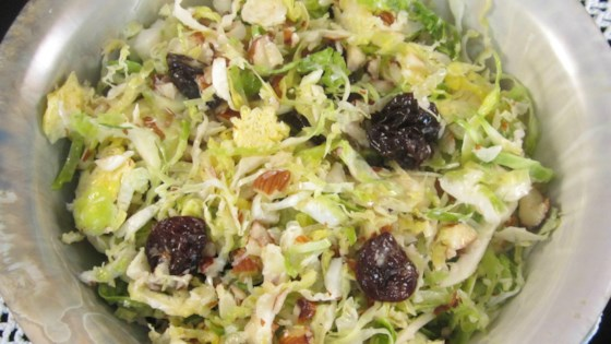 Photo of Brussels Sprout Slaw by Finchesarebeautiful