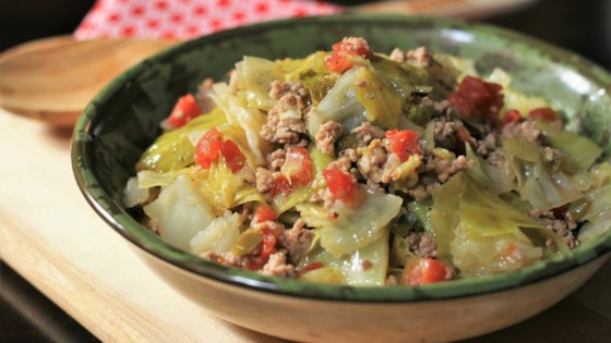 Ms. Angela's Smothered Cabbage Recipe