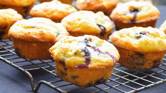 Photo of Chef John's Blueberry Muffins by Chef John