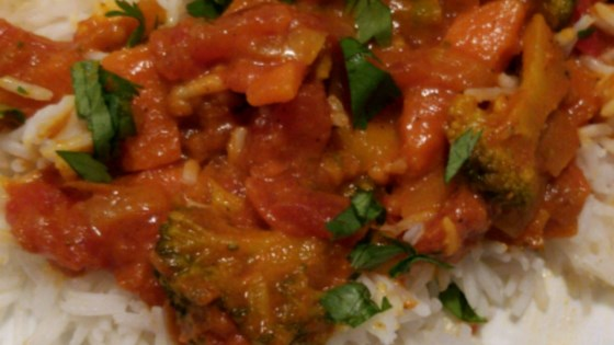 quick and easy vegetable curry review by darv
