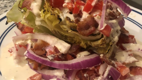 Photo of Grilled Wedge Salad by Brian Genest