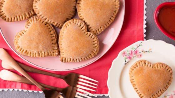 heart shaped whole wheat mini calzones review by niki gourley