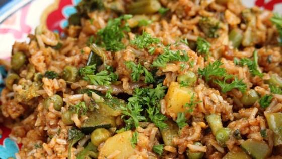 Photo of Vegan Biryani Recipe by Rahul Upadhyay