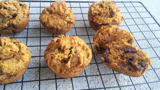 Photo of Gluten-Free Pumpkin Chocolate Chip Muffins by Megan MacMurray