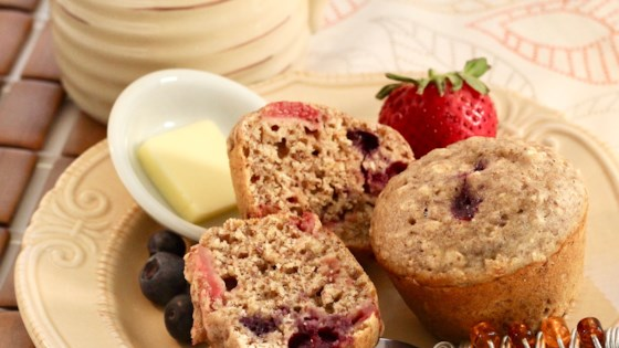 Photo of Bumbleberry Muffins by sherry