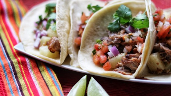 Photo of Instant Pot® Tacos al Pastor by fabeverydayblog