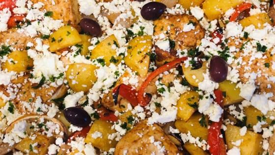 mediterranean chicken sheet pan dinner review by karen