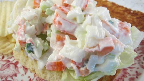 Keto Mock Crab Salad Recipe - Allrecipes com
