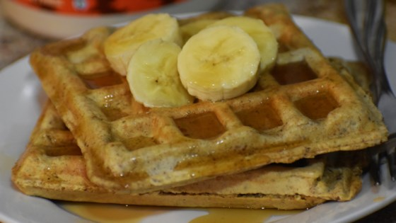 Photo of Dairy-Free Whole Wheat Waffles  by Julie