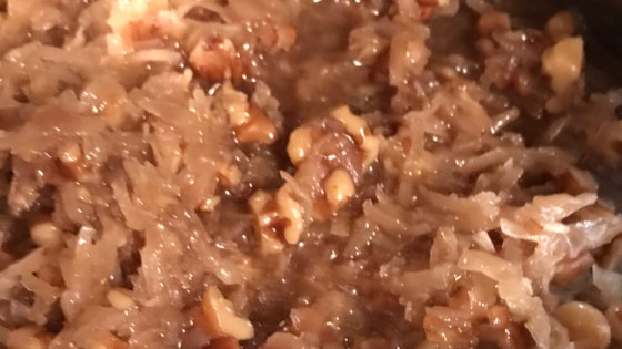 Photo of Easy German Chocolate Cake Icing by BESTHEN