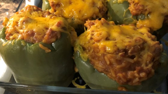 Photo of Sausage and Rice Stuffed Peppers by NANCIENANCIE