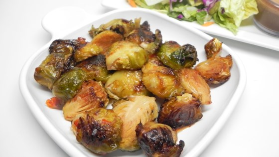 Photo of Asian-Style Brussels Sprouts by AmyLee