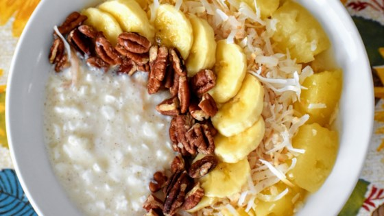 Photo of Hummingbird Cake Cottage Cheese Bowl by Kim