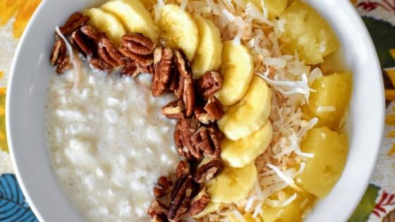 Hummingbird Cake Cottage Cheese Bowl Recipe