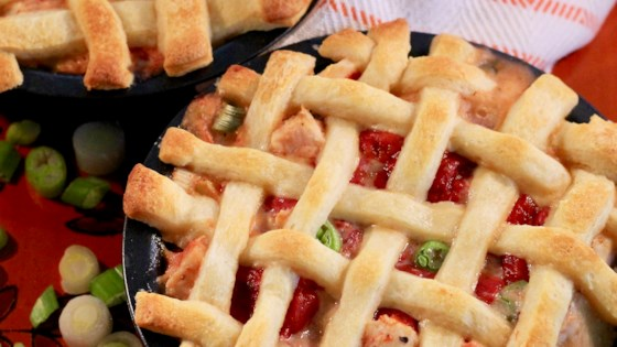 Photo of Lattice Chicken and Peppers Pie by Jennifer Murray