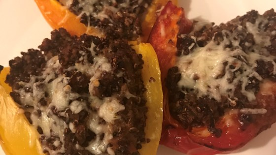 Photo of Mexican Stuffed Peppers with Quinoa by ddmama