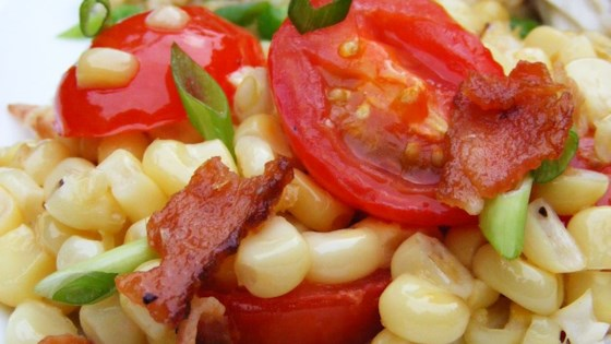 Photo of Fresh Corn and Tomato Casserole by RALWOLF
