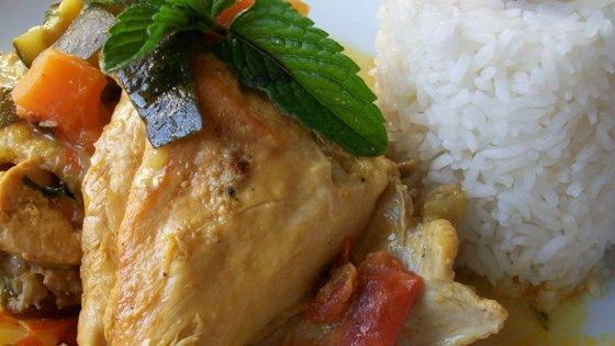 Photo of Chicken Stew With Coconut Milk by USA WEEKEND columnist Jean Carper