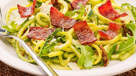 Photo of Turkey Bacon Zucchini Pasta by Pure Farmland