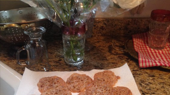 Photo of French Lace Cookies by angelica