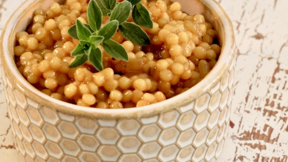 Photo of Curried Israeli Couscous by FrackFamily5 CA—>CT