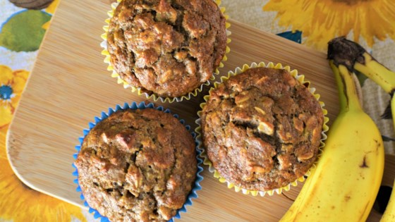 Photo of Whole Wheat Banana Oat Muffins by rwodatch