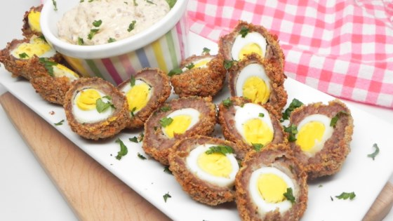 Photo of Mini Scotch Eggs in the Air Fryer by Soup Loving Nicole
