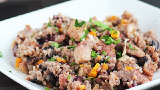Photo of Instant Pot® Jamaican Rice and Beans by Cybergy