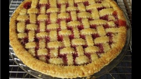 Photo of Cherry-Raspberry Pie by Mama Fresh