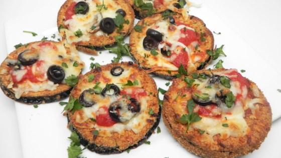 Photo of Air Fryer Eggplant Parmesan Mini Pizzas by Soup Loving Nicole