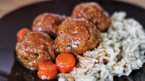 Photo of Asian Sesame Sweet-and-Sour Turkey Meatballs by tsmestad