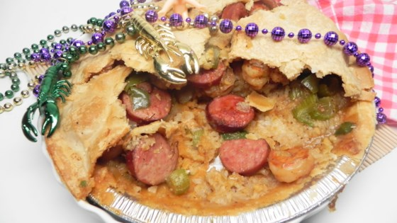 Photo of Cindi's Jambalaya Cajun Pot Pie by aaron cindi
