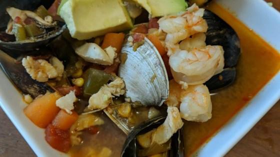 Photo of Sopa de Mariscos (Seafood Soup) by Rob