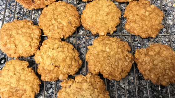 Photo of Apricot Anzac Biscuits by theswiftenator