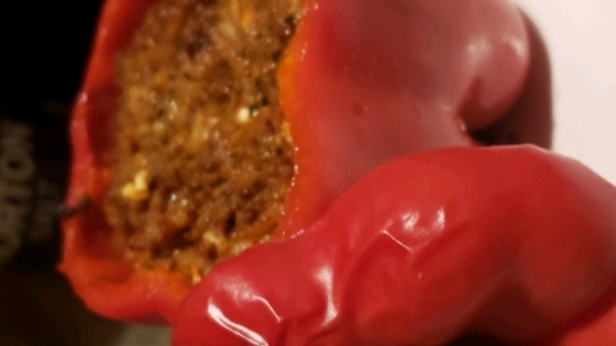 Photo of Millet and Beef Stuffed Peppers by jamiet