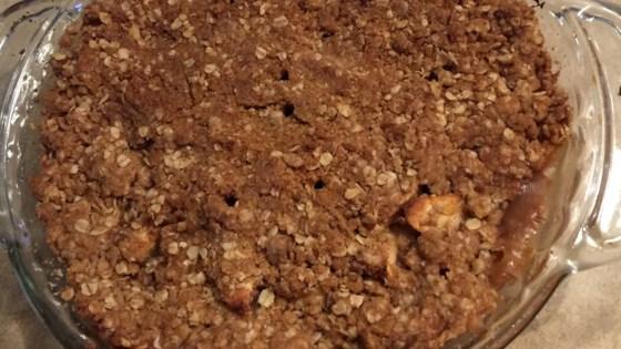 Photo of Apple Oat Crisp Pie by CAKEWOMAN