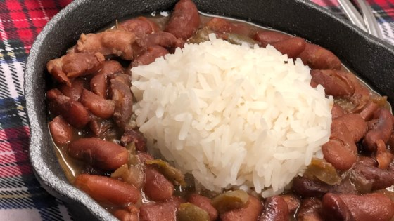 Instant Pot® NOLA Red Beans and Rice Recipe