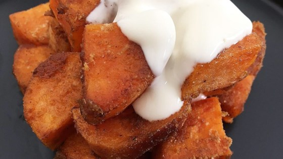 Photo of Cumin-Spiced Sweet Potatoes by Lee Lee