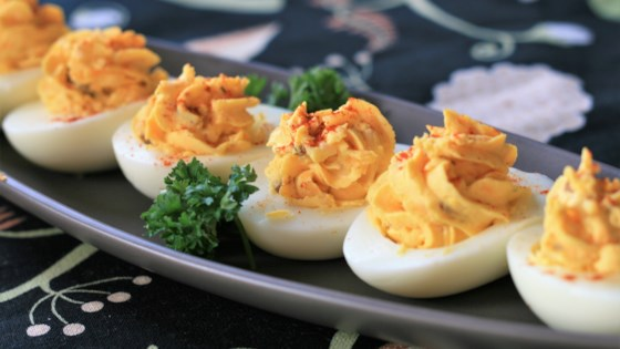 Photo of Fully Loaded Deviled Eggs by mommyof3